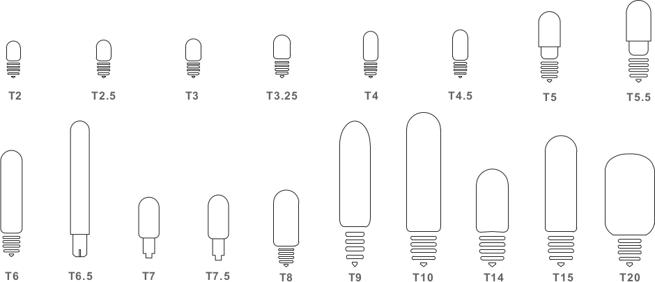 Bulb Shapes Amp Bases Commercialbulbs Com